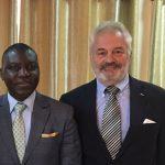 Visite officielle en République centrafricaine
