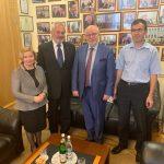 Rencontre officielle avec M. Mikhail Fedotov