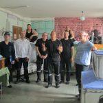 Travaux de spécialistes du CIPDH en colonie pénitentiaire 5 en Russie.